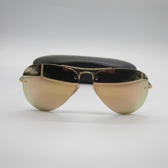 Ray-Ban Accessories   Rayban Rb3449 0012y Aviator Womens Sunglasses ... 5b9c2d75b5